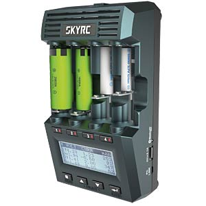 AA/AAA battery charger and analyser with Bluetooth SKYRC SK-100083