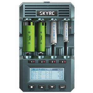 AA/AAA-laadapparaat en analysator met Bluetooth SKYRC SK-100083
