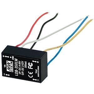 LED-Trafo, 2 - 32 V DC, 500 mA, PWM- und Spannungs-Dimmung MEANWELL LDB-500LW