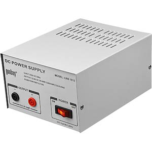 Stabilised professional power supply unit, 13.8 V, 10 - 12 A GOOBAY 20366