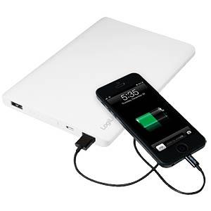 Powerbank, Li-Po, 12000 mAh, USB LOGILINK PA0128