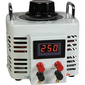 Ringkern-Stelltrafo, 0-250 V, 4 A, 1000 W, Digital MC-POWER 1326197