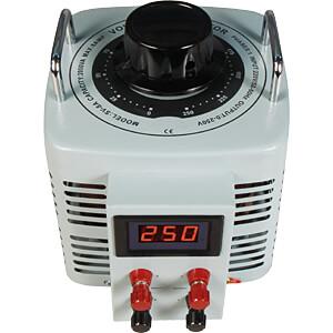 Ringkern-Stelltrafo, 0-250 V, 2 A, 2000 W, Digital MC-POWER 1326198