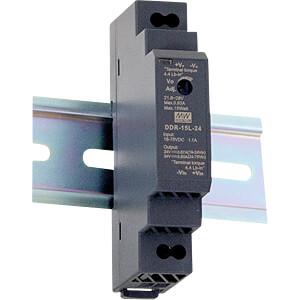 DC/DC-Wandler, 15 W, 15 V, 1 A MEANWELL DDR-15G-15