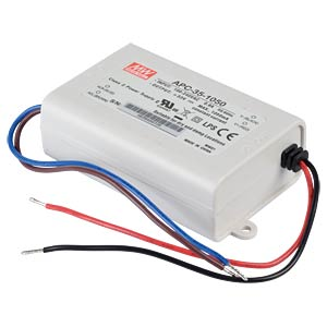 Power supply 11-33 V, 1050 mA MEANWELL APC-35-1050