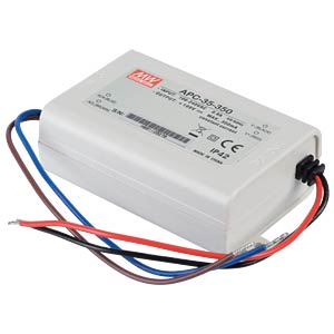 Power supply 28-100 V, 350 mA MEANWELL APC-35-350