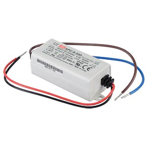 Power supply 8-16 V, 500 mA MEANWELL APC-8-500