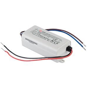 LED-Trafo, 12 W, 24 V DC, 500 mA MEANWELL APV-12-24