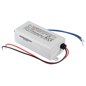 Power supply 24 V, 0.67 A MEANWELL APV-16-24