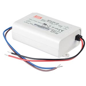 Power supply 12 V, 2.1 A MEANWELL APV-25-12
