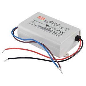 Power supply 15 V, 1.68 A MEANWELL APV-25-15