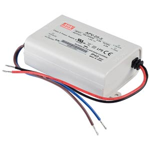 Power supply 5 V, 3.5 A MEANWELL APV-25-5