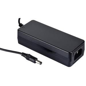 Desktop power supply, 40 W, 9 V / 4,45 A MEANWELL GST40A09-P1J