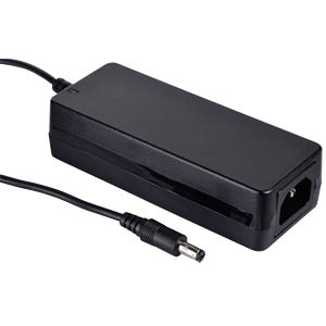 Desktop power supply, 60 W, 18 V / 3,33 A MEANWELL GST60A18-P1J