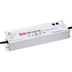 LED-Trafo, 150 W 24 V, 6,3 A MEANWELL HEP-150-24A