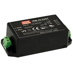 AC/DC-Wandler, 85 - 264 V AC, 48 V DC, Modul MEANWELL IRM-45-48ST