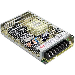 MW LRS-150F-12 - Schaltnetzteil, geschlossen, 150 W, 12 V, 12,5 A