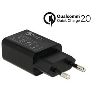 USB charger with Qualcomm® Quick Charge 2.0 NAVILOCK 62675