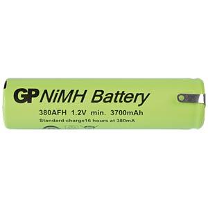 NiMh industriecel van GP, soldeercontact, 3800mAh GP-BATTERIES 380AFH1A1P1C
