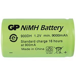 NiMh-Industriezelle von GP, 1,2V, D, 9000mAh, 33,0x60,0 GP-BATTERIES 301.900DH-C1