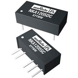 DC/DC-Wandler NKA, 1 W, 5 V, 100 mA, DIL, Dual MURATA POWER SOLUTIONS NKA0505SC