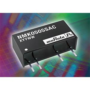 DC/DC converter NMK series 2 W, 15 V DC, SIP, single MURATA POWER SOLUTIONS NMK0515SAC