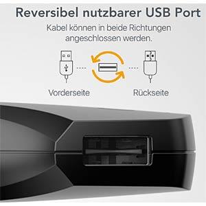 USB-Ladegerät, 5 V, 2400 mA, Kfz, 2 USB-Ports NONDA