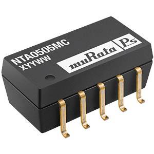 DC/DC-Wandler NTA, 1 W, 12 V, 42 mA, SMD, Dual MURATA POWER SOLUTIONS NTA0512MC