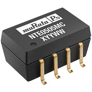 DC/DC-Wandler NTE, 1 W, 5 V, 200 mA, SMD, Single MURATA POWER SOLUTIONS NTE1205MC