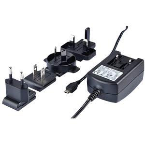 Raspberry Pi - Ladegerät, 5 V, 2,5 A, Micro-USB, schwarz RASPBERRY PI T5989DV