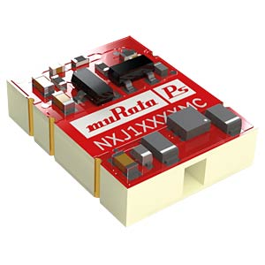 DC/DC-Wandler NXJ1, 1 W, 15 V, 67 mA, Low Profile MURATA POWER SOLUTIONS NXJ1S1215MC-R7