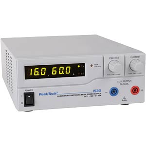 PeakTech laboratory high-performance switching power supply PEAKTECH P 1530
