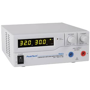 PeakTech laboratory switching power supply DC 1 - 32V/0 - 30A PEAKTECH P 1560
