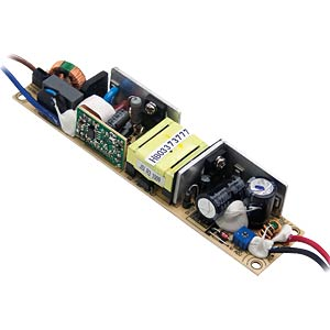 LED switching power supply, 19.8 W, 18 V/1.1 A MEANWELL PLP-20-18