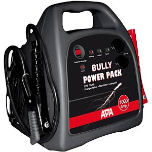 Starthilfesystem Power Pack, integrierter Blei-Akku mit 18 Ah FREI