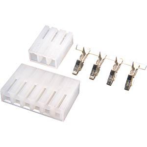 Steckersatz für Schaltnetzteil PSA 75-xx HN-ELECTRONIC PSA075-STECKER