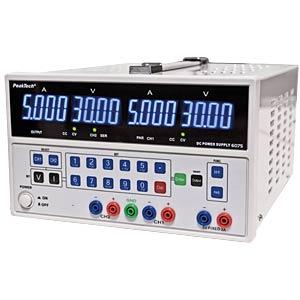 Labornetzgerät, 0 - 30 V, 0 - 5 A, stabilisiert PEAKTECH P 6075