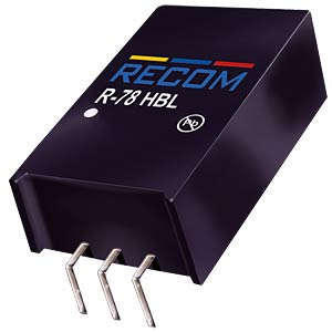 DC/DC-Wandler, 3,3 V, 0,5 A, Single RECOM 80099210