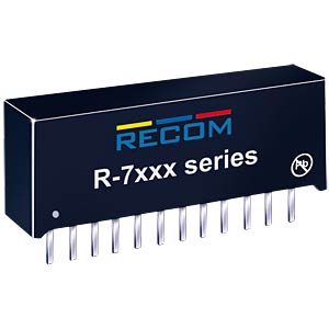 DC/DC-Wandler, 3 - 5,5 V, 2 A, Single RECOM 80099098