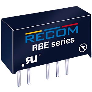 DC/DC-Wandler, 5 V, 200 mA, 1 W, Single RECOM 10016266