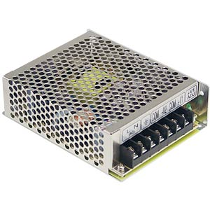 Switching power supply, 53.6 W, 4 A, 5/24 V MEANWELL RD-50B
