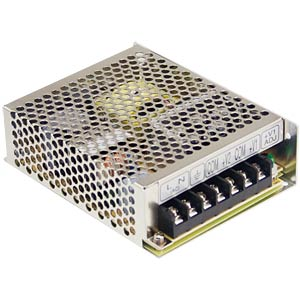 Switching power supply, 68 W, 4 A, 5/24 V MEANWELL RD-65B