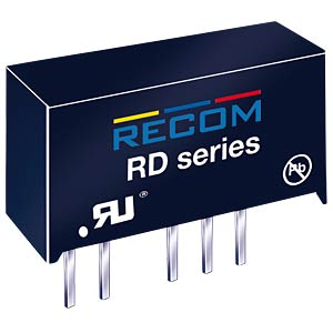 DC/DC-Wandler, ±5 V, ±200 mA, 2 W,Dual RECOM 10000223
