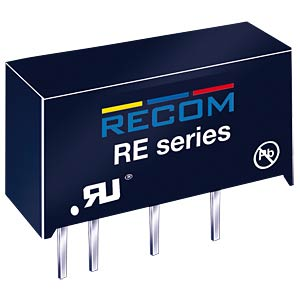 DC/DC-Wandler RE, 1 W, 3,3 V, 303 mA, SIL-7, Single RECOM 10004078