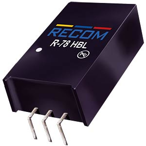 DC/DC, 0,5A, 24 V RECOM 80099231