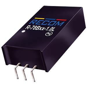 DC/DC, 5 V, 1A, Single RECOM 80099161