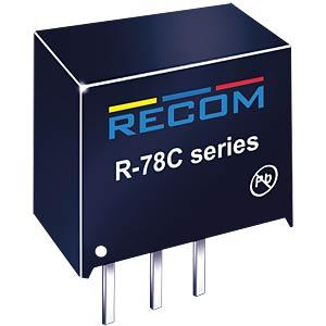 DC/DC-Wandler R78C, 3,3 V, 1000 mA, SIL-3, Single RECOM 80000050