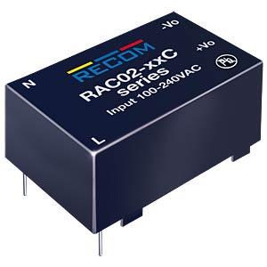 AC/DC, 2 W, 83 mA, 24 V RECOM 20000812