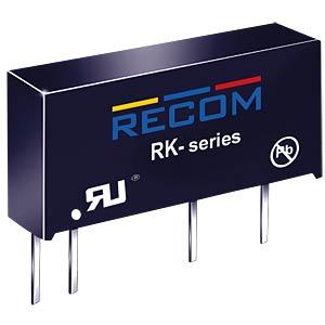 DC/DC, 2 W, 5 V, 400 mA, Single RECOM 10000444