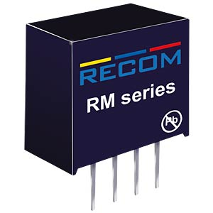 DC/DC-Wandler RM, 0,25 W, 3,3 V, 78 mA, SIL-4, Single RECOM 10002371